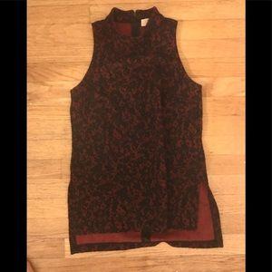 NWOT Michael Kors red and black dress